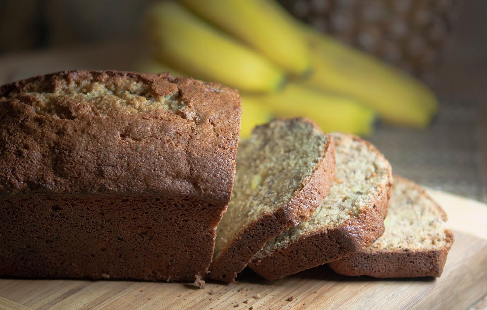 Easy Banana Nut Bread Recipe  Simple Banana Nut Bread Recipe