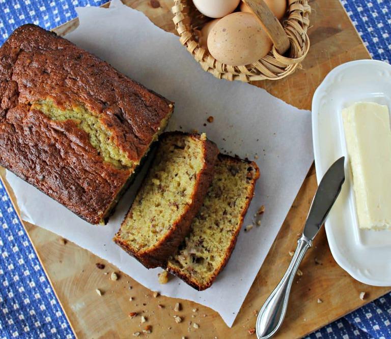 Easy Banana Nut Bread Recipe  Easy Banana Nut Bread Recipe