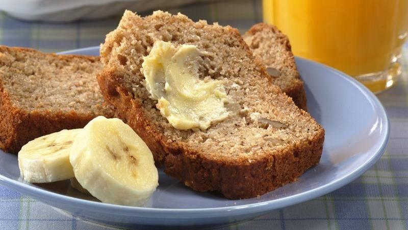 Easy Banana Nut Bread Recipe  Banana Nut Quick Bread recipe from Betty Crocker