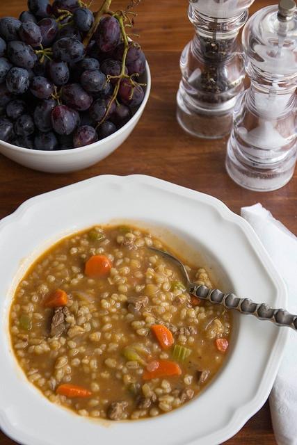 Easy Beef Barley Soup  Beef barley soup