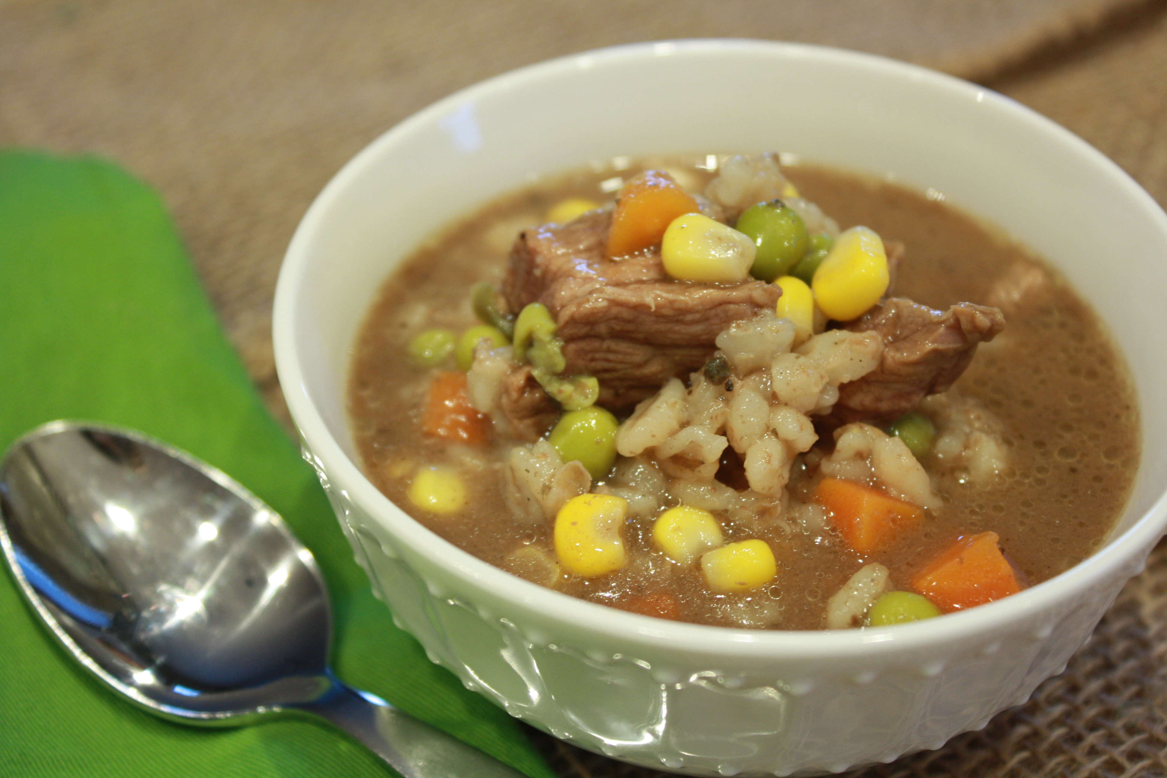 Easy Beef Barley Soup  Crockpot Beef Barley Soup Recipe