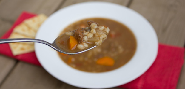 Easy Beef Barley Soup  Homemade Beef Barley Soup easy recipe