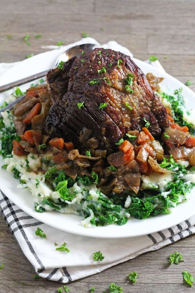 Easy Beef Brisket Slow Cooker Recipe  Slow Cooked Beef Brisket My Fussy Eater