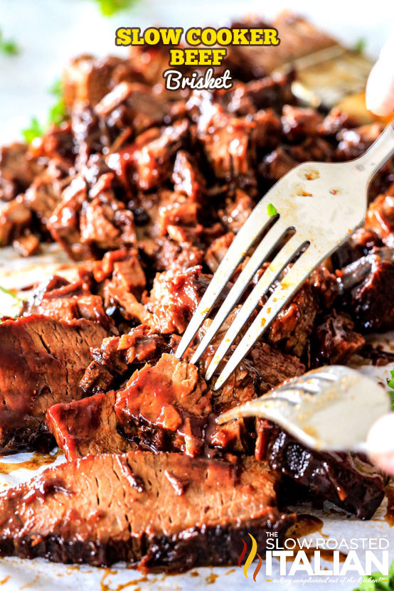Easy Beef Brisket Slow Cooker Recipe  Slow Cooker Beef Brisket With NEW VIDEO