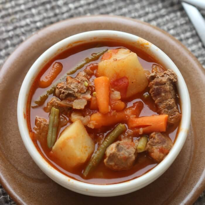 Easy Beef Stew Crock Pot  Quick & Easy Crock pot Beef Stew Recipe Eating on a Dime