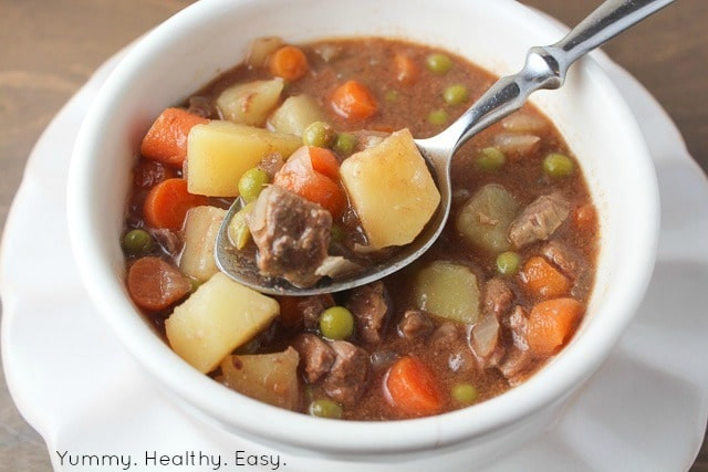 Easy Beef Stew Crock Pot  Simple & Delicious Crock Pot Beef Stew Yummy Healthy Easy