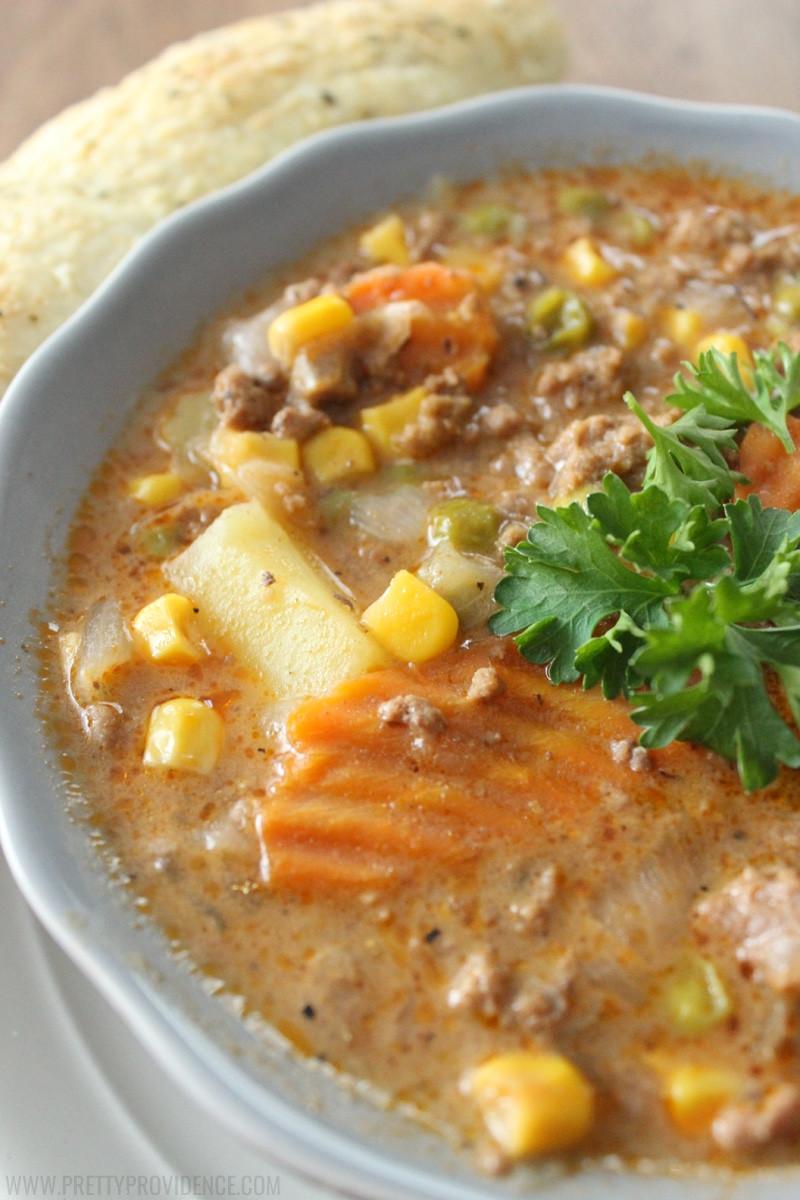 Easy Beef Stew Crock Pot  Easy Crock Pot Beef Stew