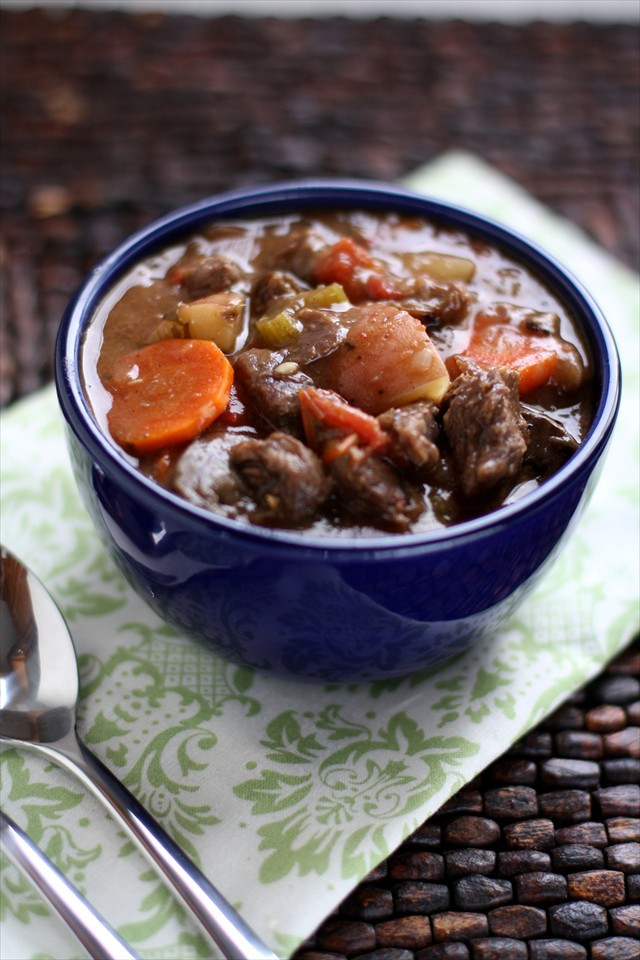 Easy Beef Stew Crock Pot  Easy recipes with beef stew meat in crock pot