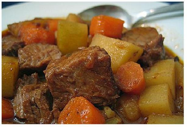 Easy Beef Stew Crock Pot  Easy Crock Pot Beef Stew Recipe Food