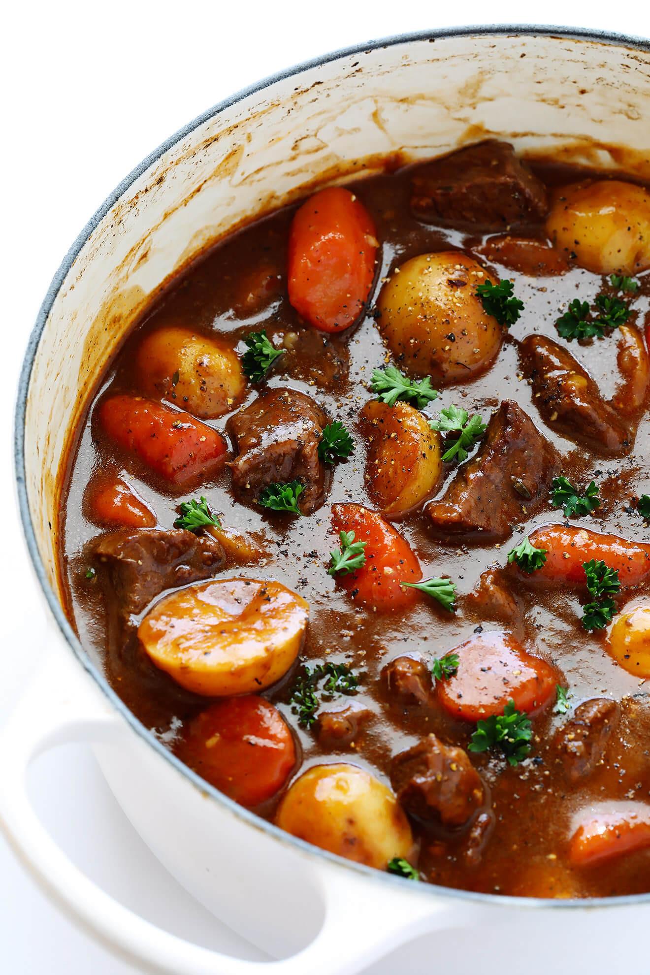 Easy Beef Stew Recipe  Guinness Beef Stew