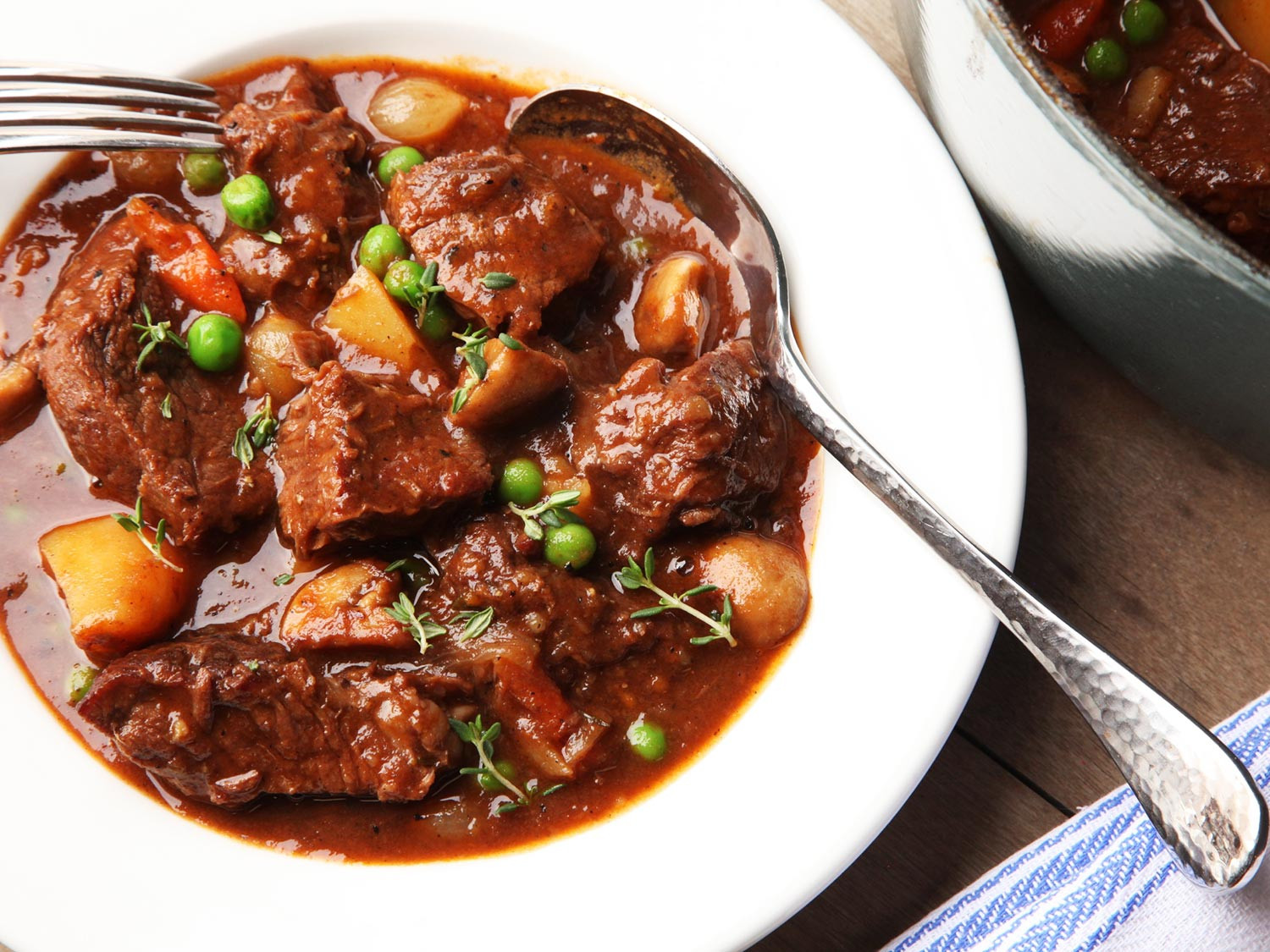 Easy Beef Stew Recipe  Stew Science What s the Best Way to Brown Beef