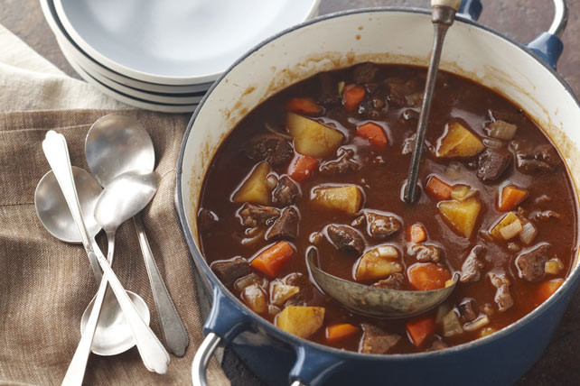 Easy Beef Stew Recipe  Extremely Easy Beef Stew Kraft Recipes