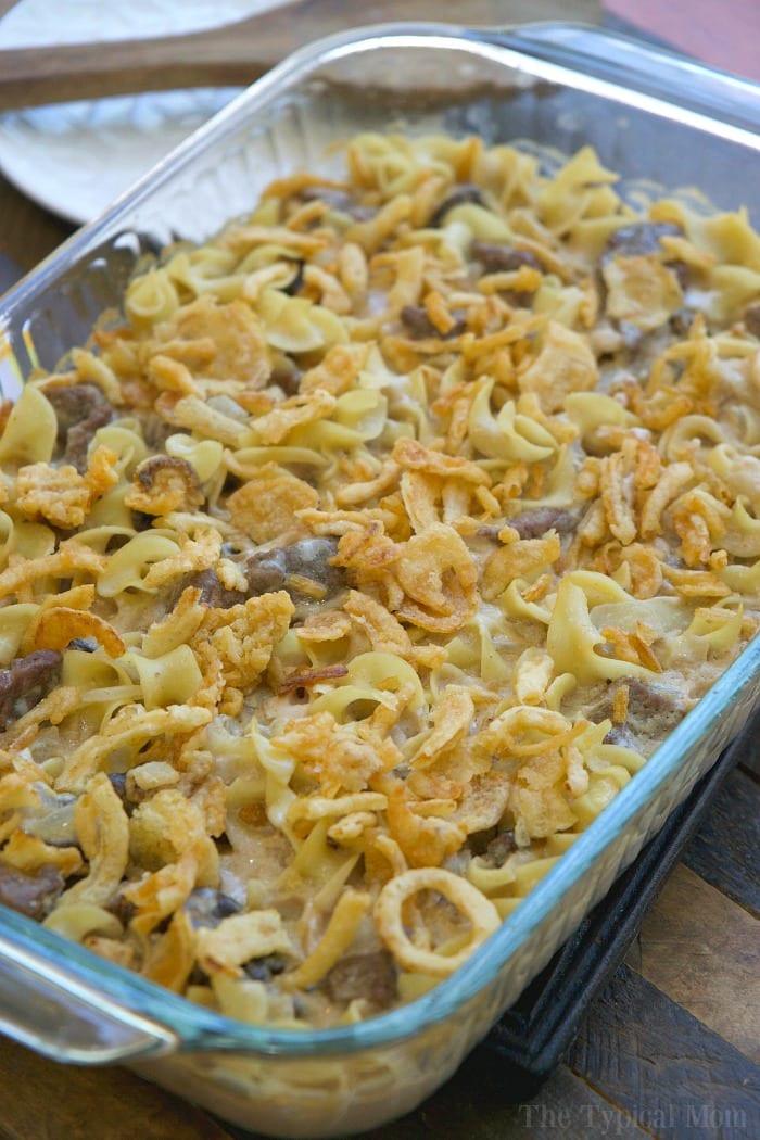 Easy Beef Stroganoff Recipe  Easy Beef Stroganoff Casserole Recipe · The Typical Mom
