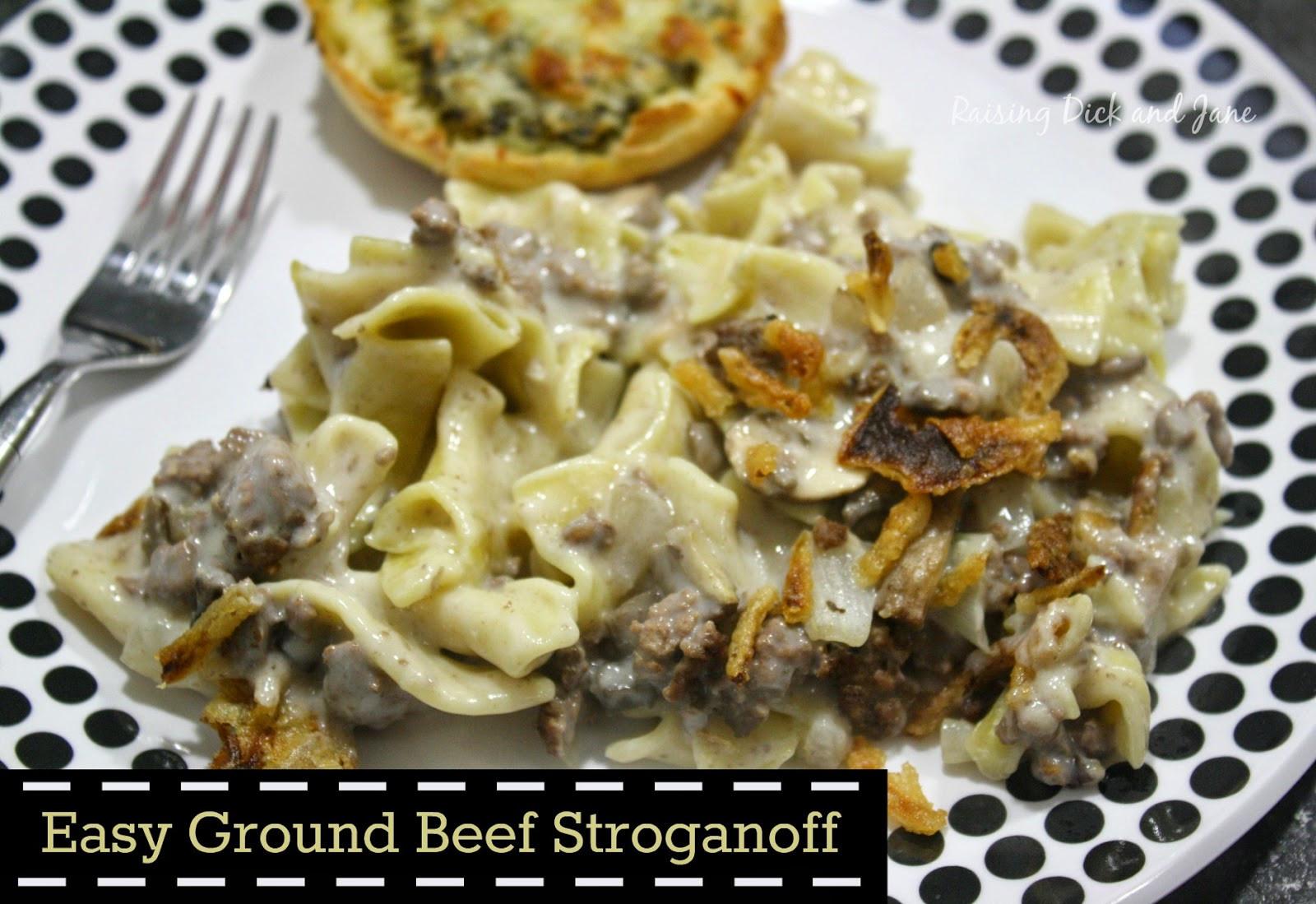 Easy Beef Stroganoff Recipe  Quick and Easy Beef Stroganoff labels4edu cbias