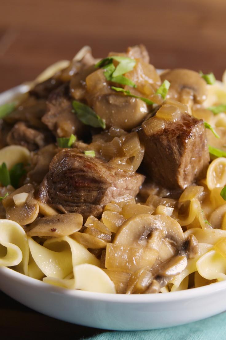 Easy Beef Stroganoff Recipe  Easy Beef Stroganoff Recipe How To Make Best Homemade