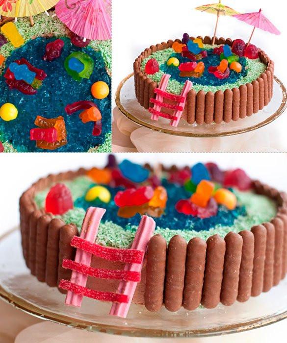 Easy Birthday Cake Ideas  Kids birthday cake ideas Happy Birthday Cakes And Wishes