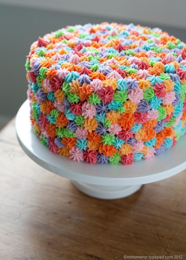 Easy Birthday Cake Ideas  Easy Cake Decorating Idea mirror mirror