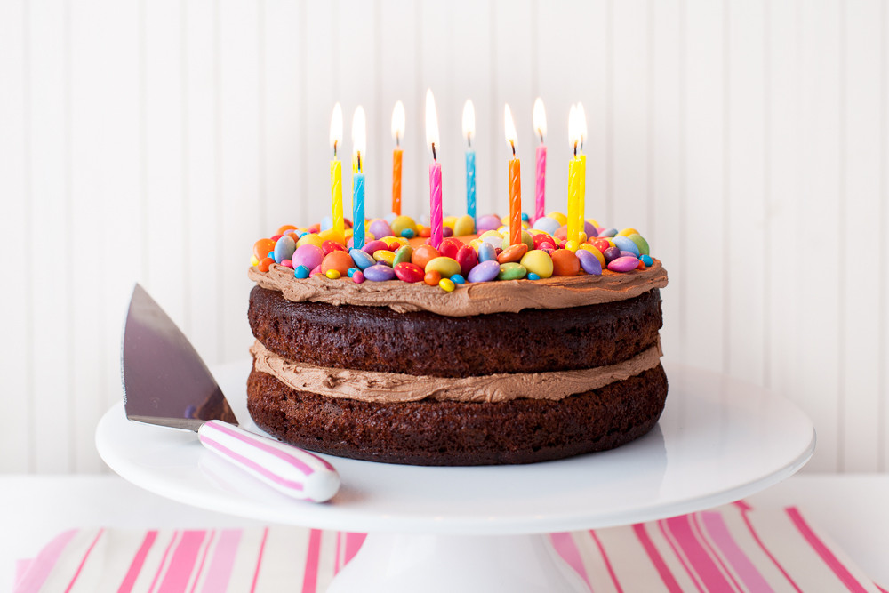 Easy Birthday Cake Recipe  Easy Birthday Cake ILoveCooking