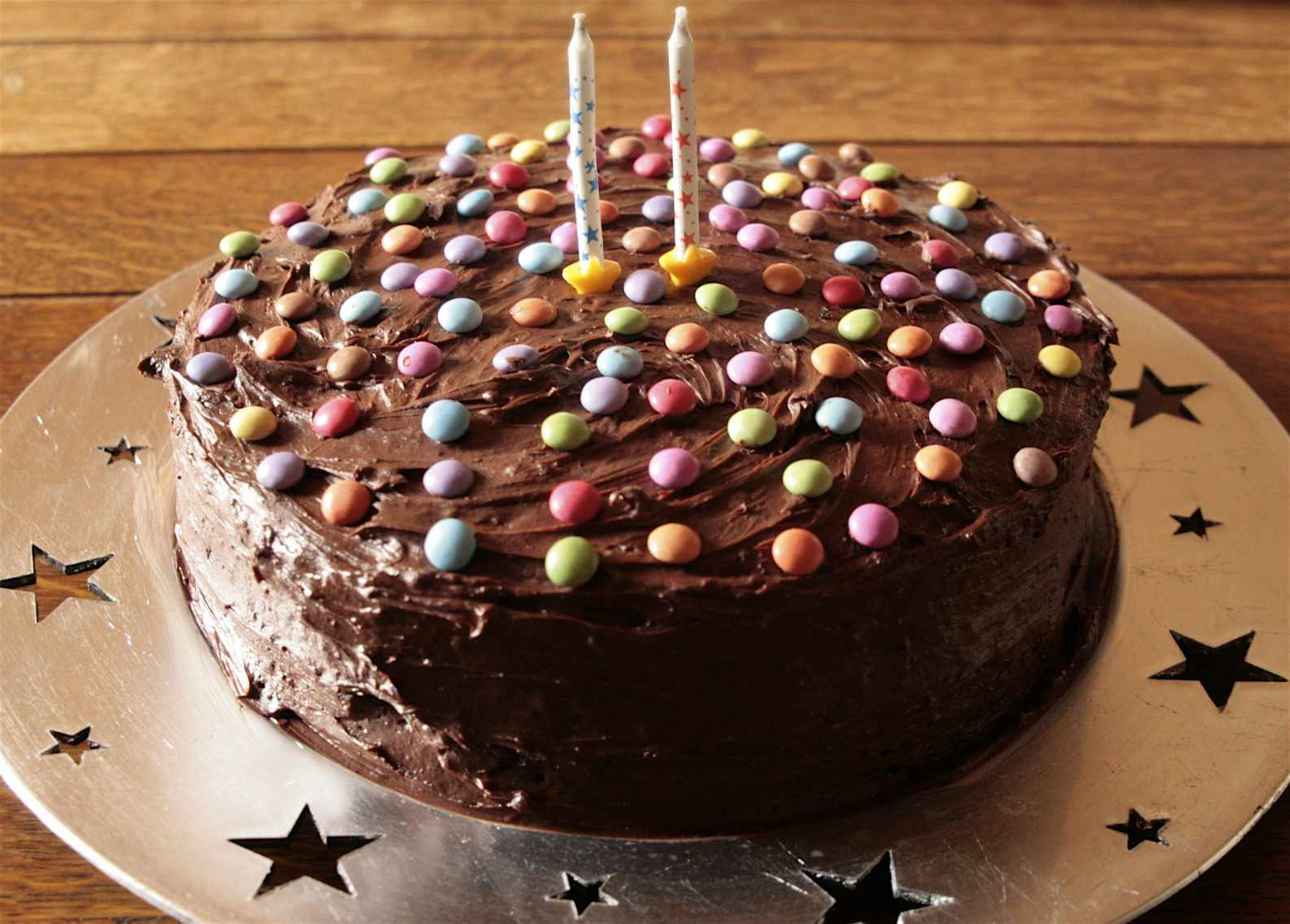 Easy Birthday Cake Recipe  Chocolate Birthday Cake