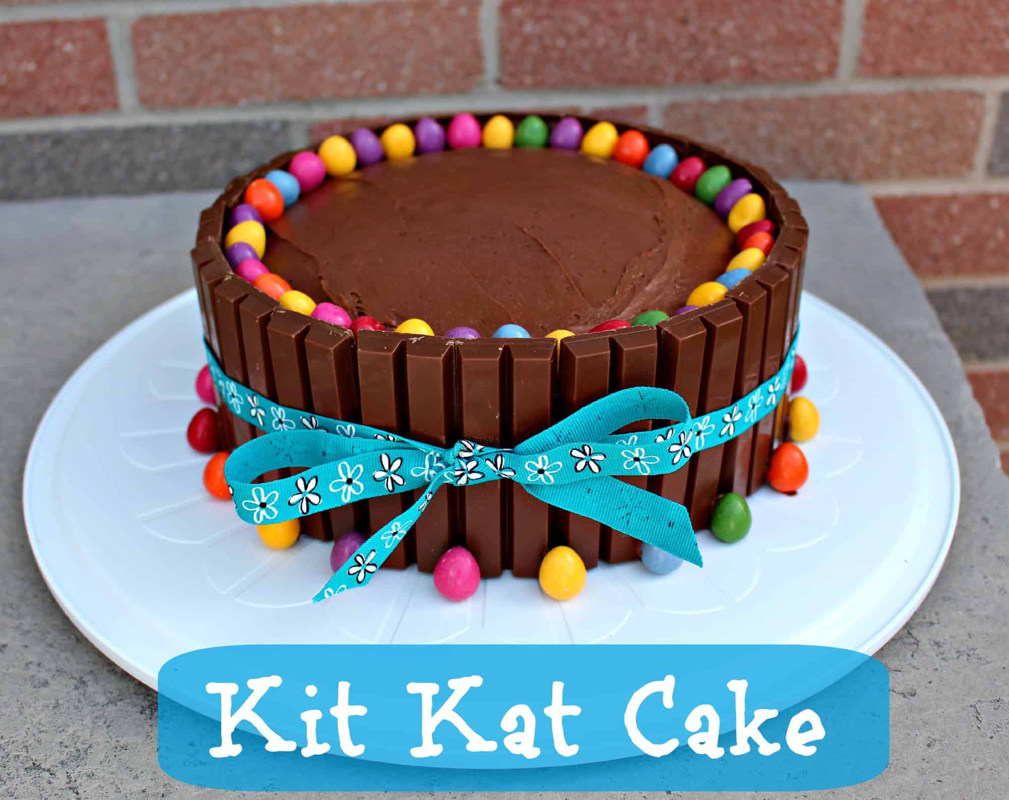 Easy Birthday Cake Recipe  Easy Birthday Cake Ideas – Kit Kat Cake Recipe Little