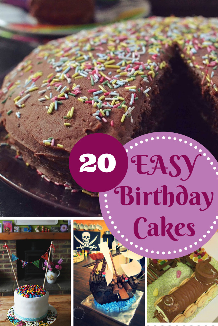 Easy Birthday Cake Recipe  Easy Birthday Cake Recipes In The Playroom