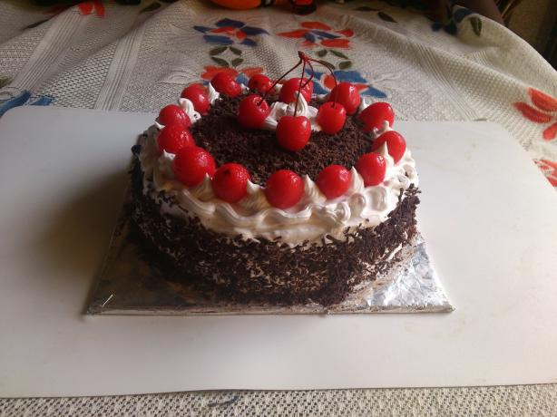 Easy Black Forest Cake Recipe  So Easy Black Forest Cake Recipe Food