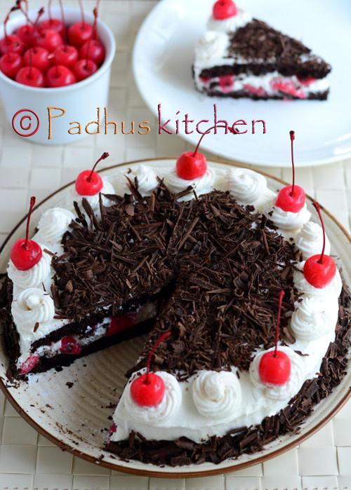 Easy Black Forest Cake Recipe  Black Forest Cake Recipe Easy Black Forest Cake from