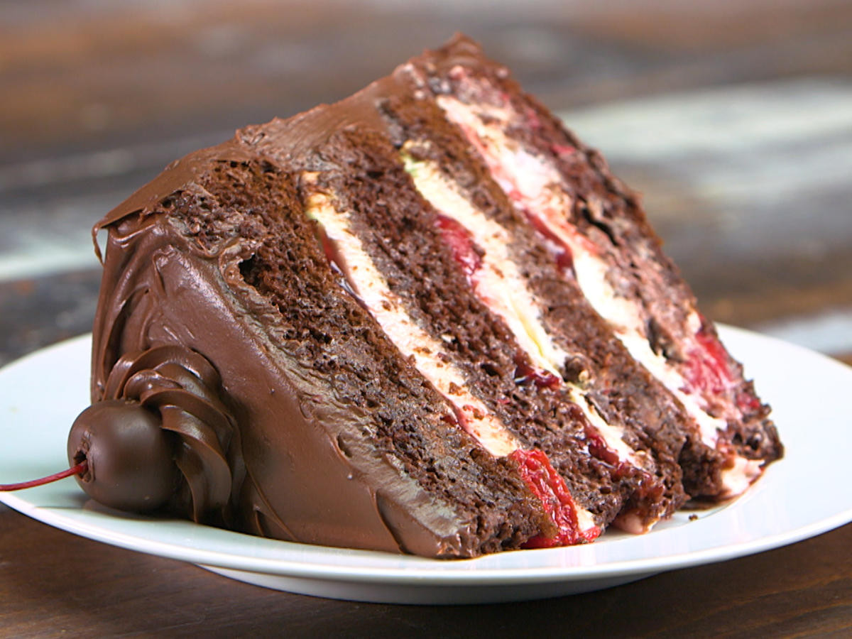 Easy Black Forest Cake Recipe  Cake Confidential Easy Layer Cake Recipes