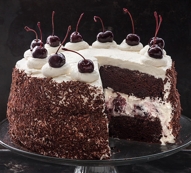 Easy Black Forest Cake Recipe  Easy Black Forest Cake Recipe — Dishmaps