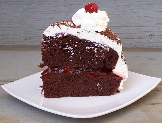 Easy Black Forest Cake Recipe  Recipe Simple Black Forest Cake
