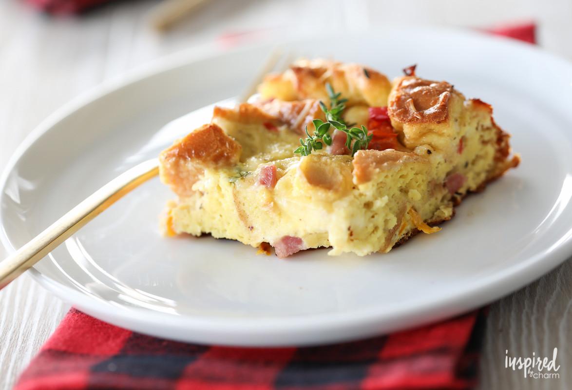 Easy Breakfast Casserole Recipes  East Overnight Breakfast Casserole great for entertaining