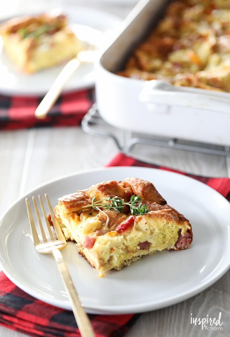 Easy Breakfast Casserole Recipes  The Easiest Overnight Breakfast Casserole Recipe