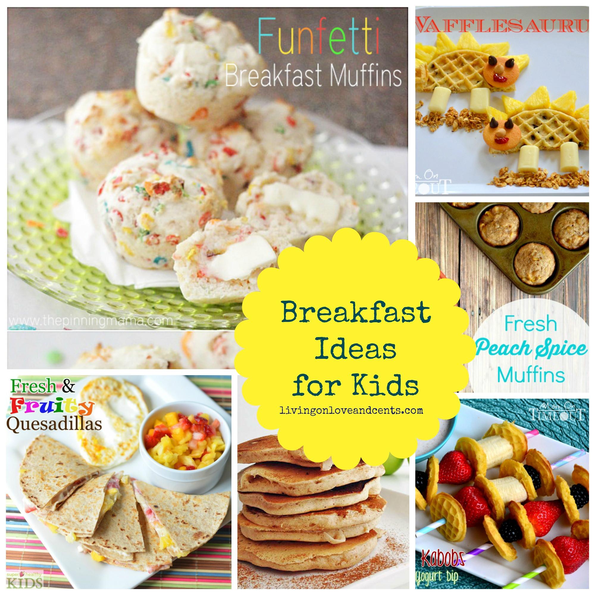 Easy Breakfast Ideas For Kids  Easy School Morning Breakfast Ideas for Kids