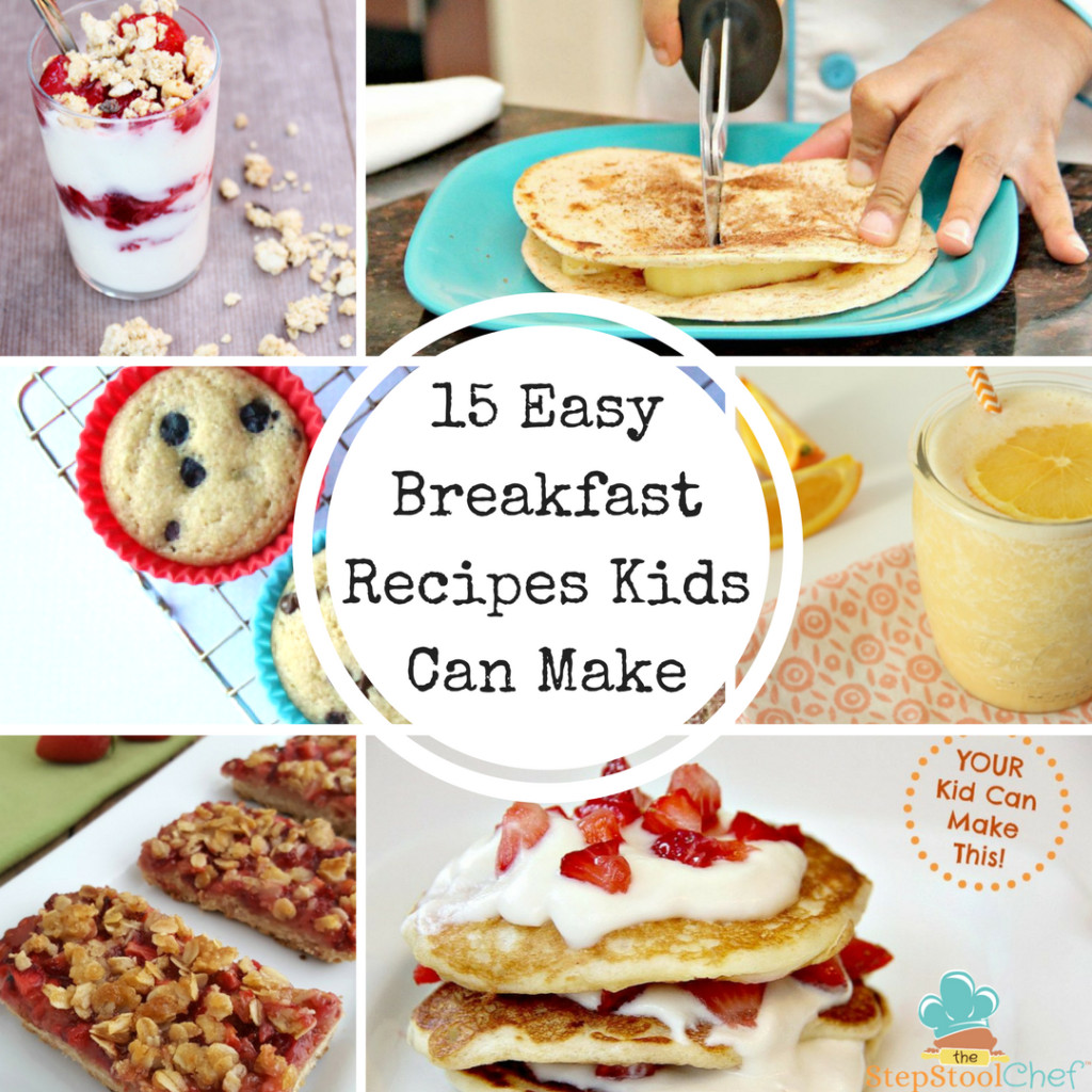 Easy Breakfast Ideas For Kids  15 Easy Breakfast Recipes Kids Can Make Step Stool Chef