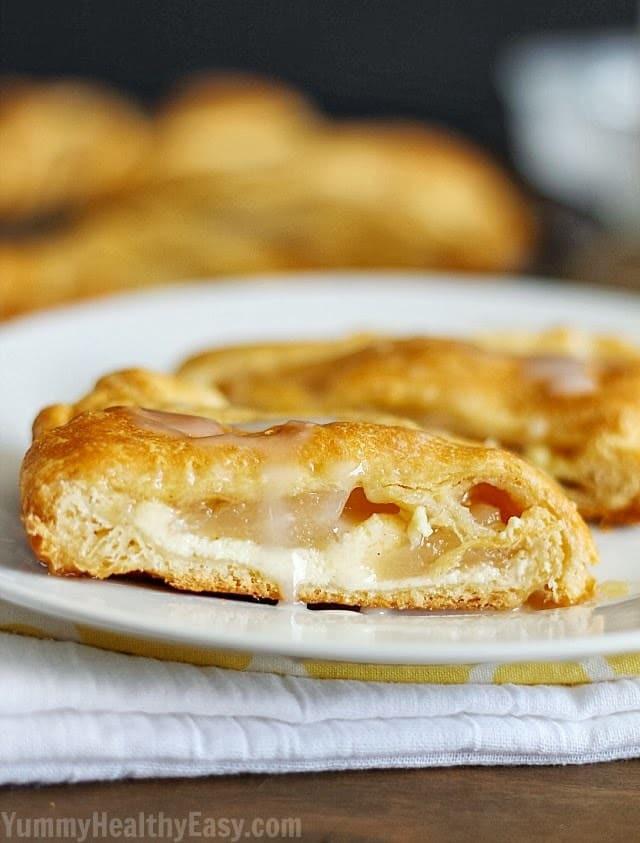 Easy Breakfast Pastries  Apple Cream Cheese Breakfast Pastry Yummy Healthy Easy