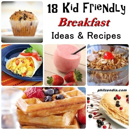 Easy Breakfast Recipes For Kids  18 Kid Friendly Breakfast Ideas and Recipes
