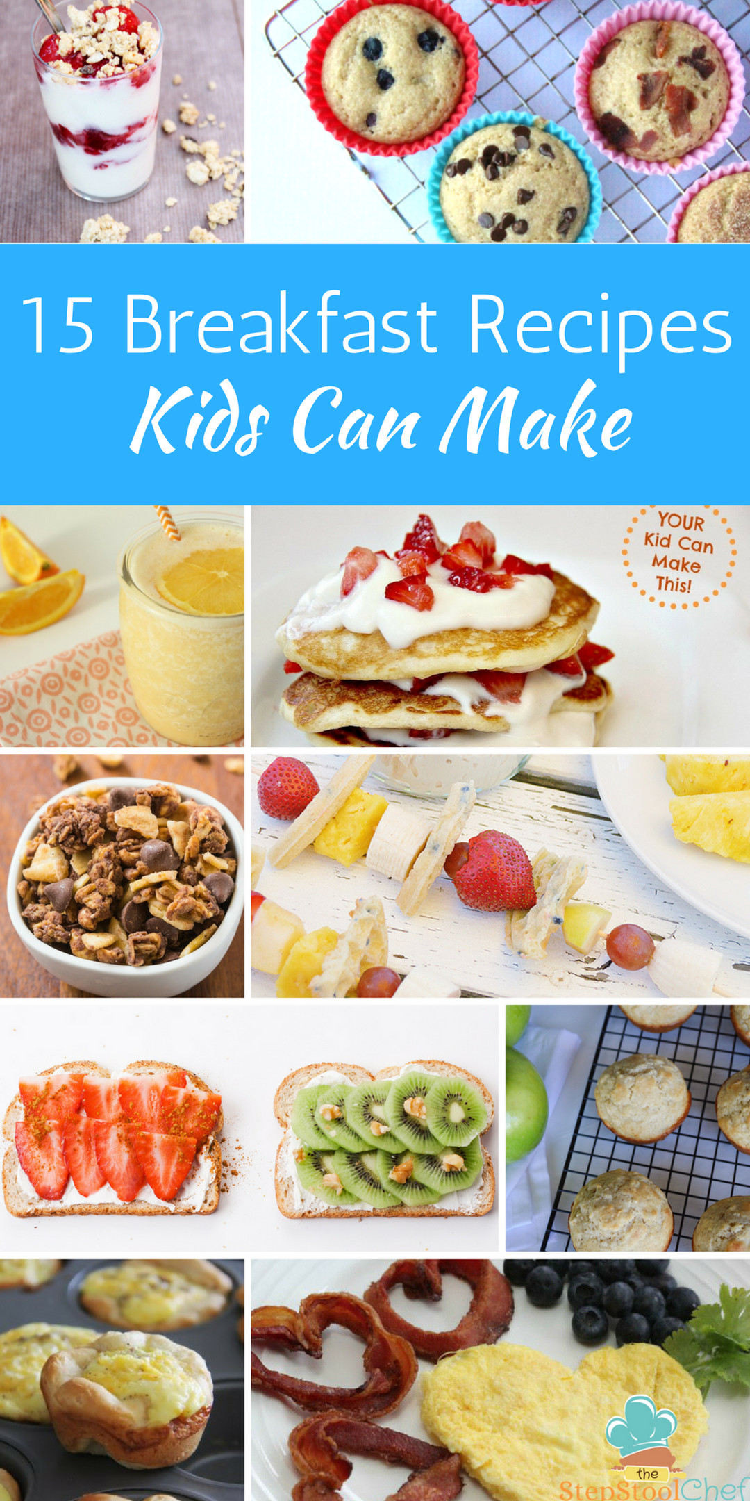 Easy Breakfast Recipes For Kids  15 Easy Breakfast Recipes Kids Can Make Step Stool Chef