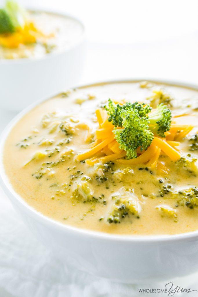 Easy Broccoli Cheese Soup  Easy Broccoli Cheese Soup Recipe 5 Ingre nts