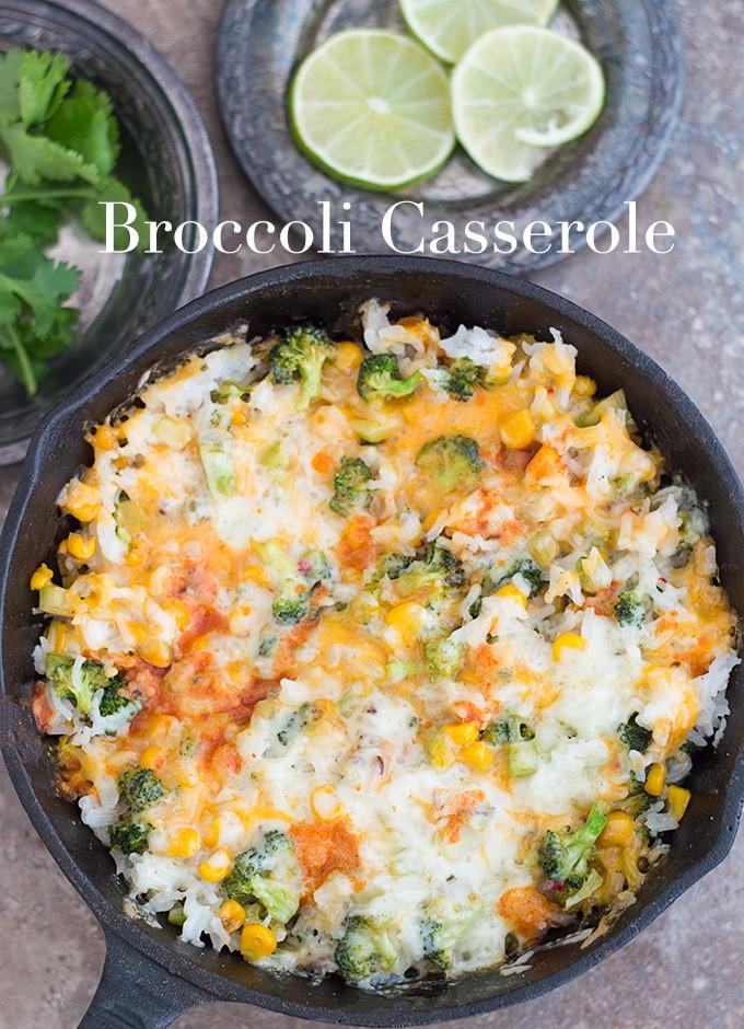 Easy Broccoli Rice Casserole  Broccoli Rice Casserole Healing Tomato Recipes