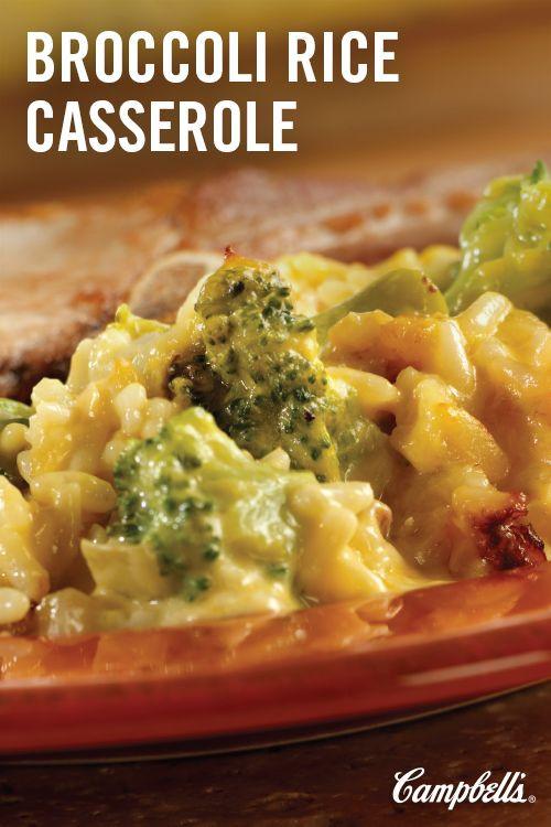 Easy Broccoli Rice Casserole  easy broccoli cheese rice casserole velveeta