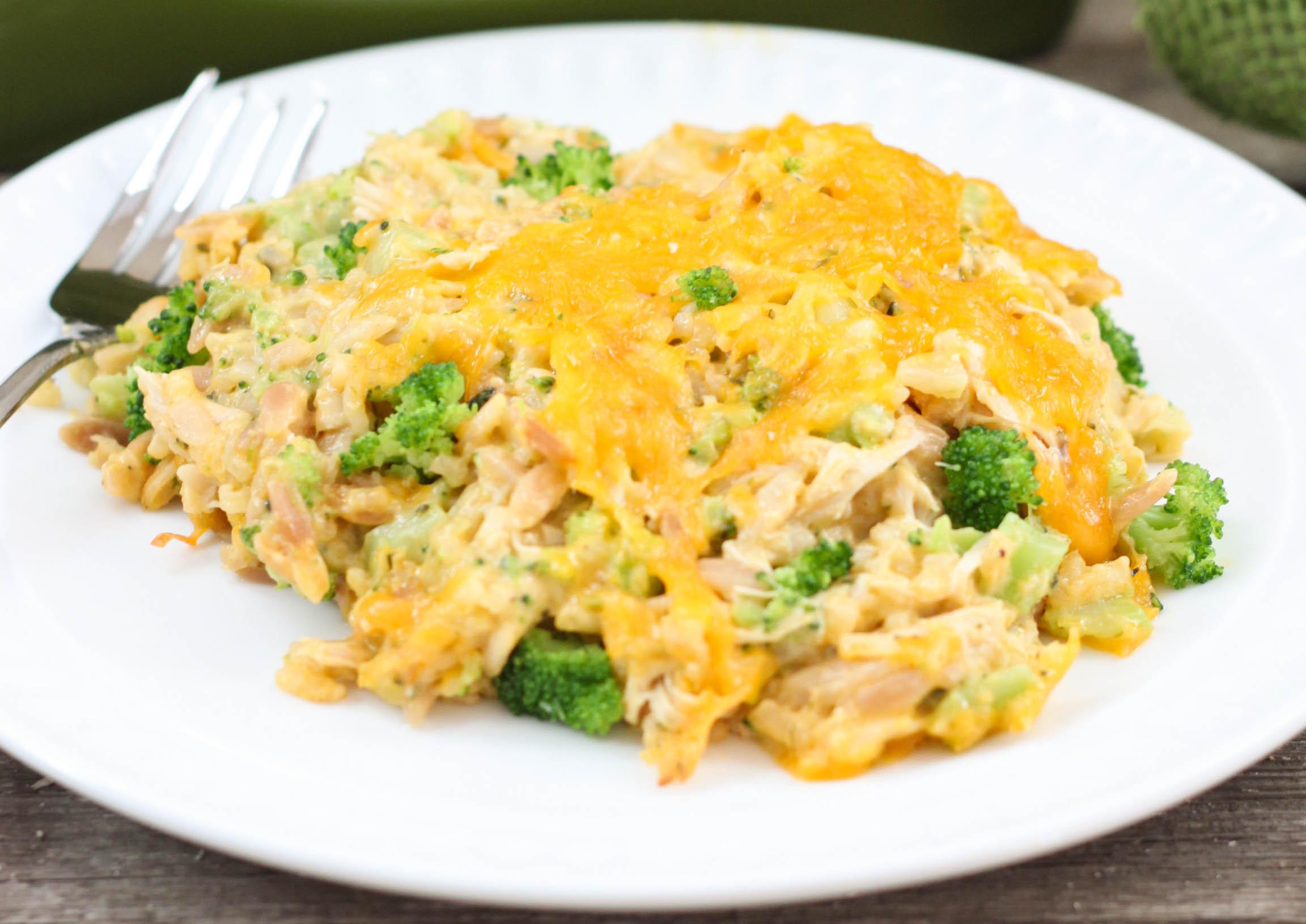 Easy Broccoli Rice Casserole  Cheesy Chicken Broccoli Rice Casserole The Farmwife Cooks