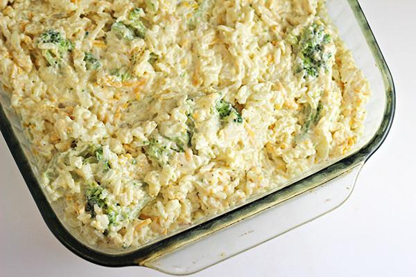 Easy Broccoli Rice Casserole  Easy Broccoli Rice Casserole Recipe Home Cooking Memories