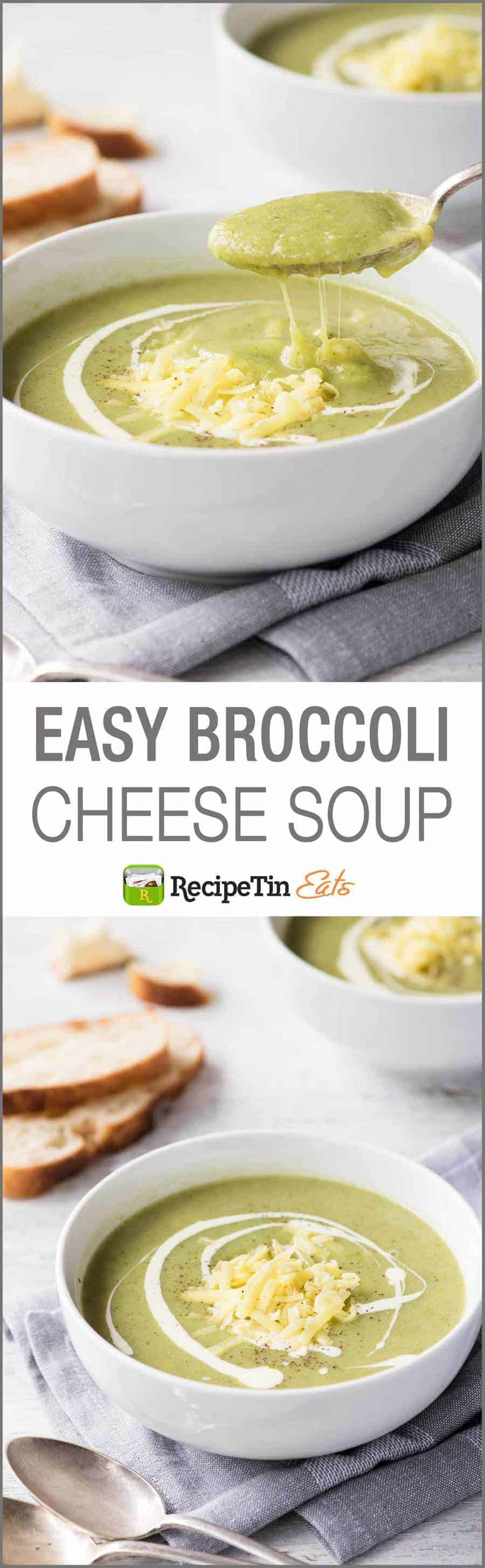 Easy Broccoli Soup  Easy Broccoli Cheese Soup