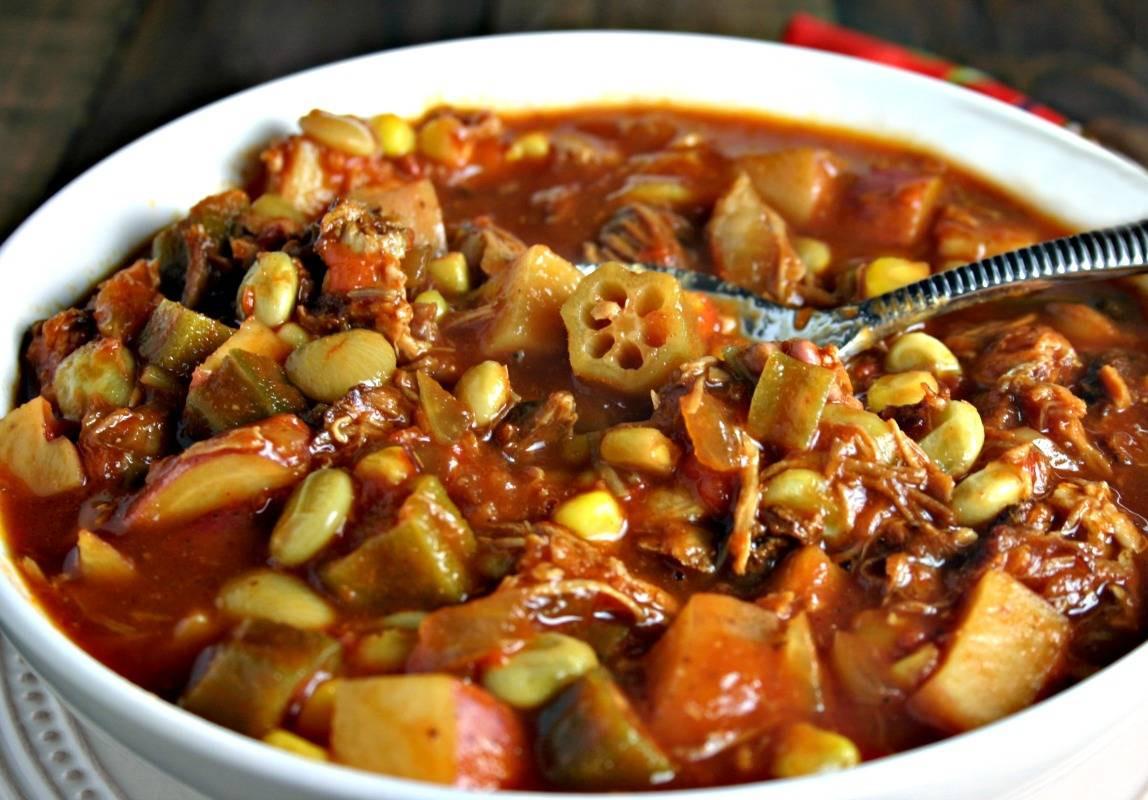 Easy Brunswick Stew Recipe  Easy Brunswick Stew Life Love and Good Food
