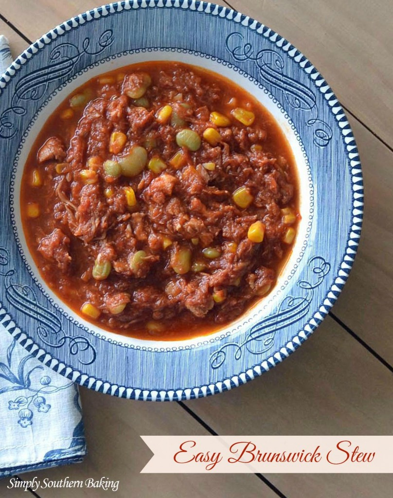 Easy Brunswick Stew Recipe  southern living easy brunswick stew recipes