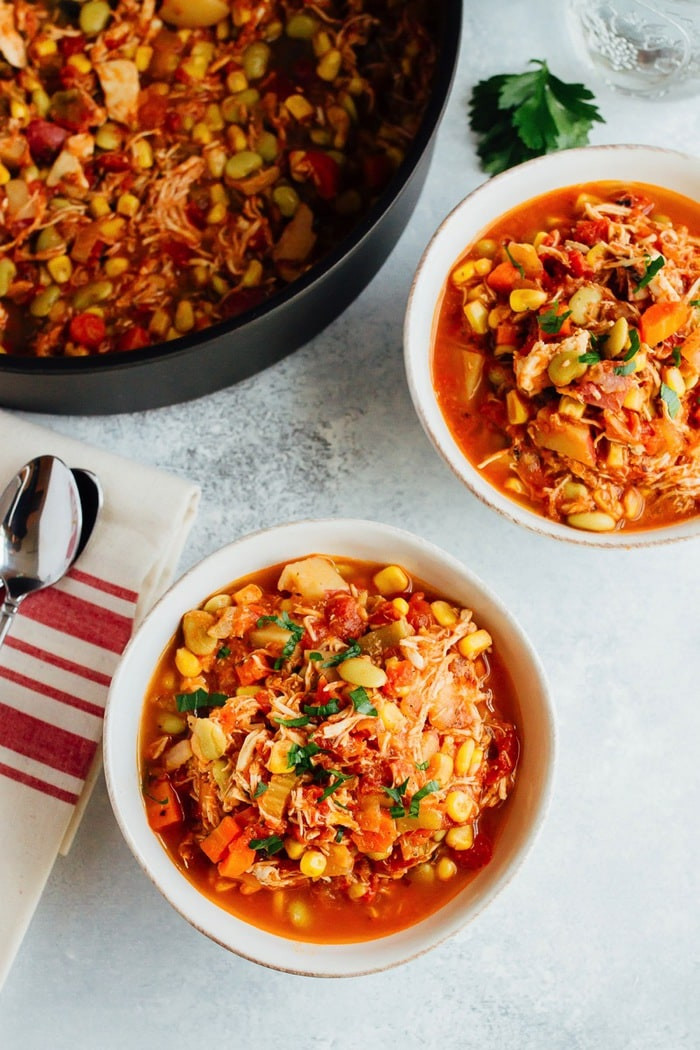 Easy Brunswick Stew Recipe  easy chicken brunswick stew recipe