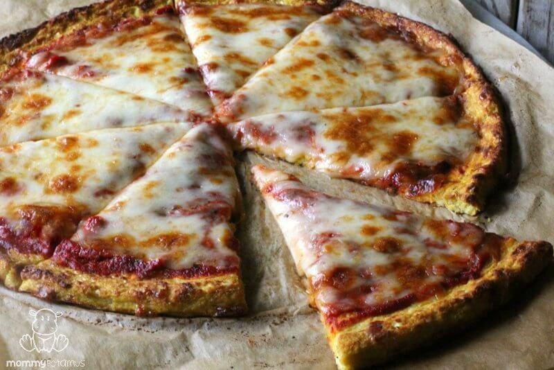 Easy Cauliflower Pizza Crust  Cauliflower Pizza Crust Recipe
