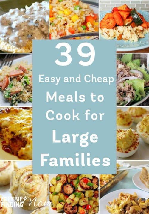 Easy Cheap Dinner  39 Easy and Cheap Meals to Cook for Families