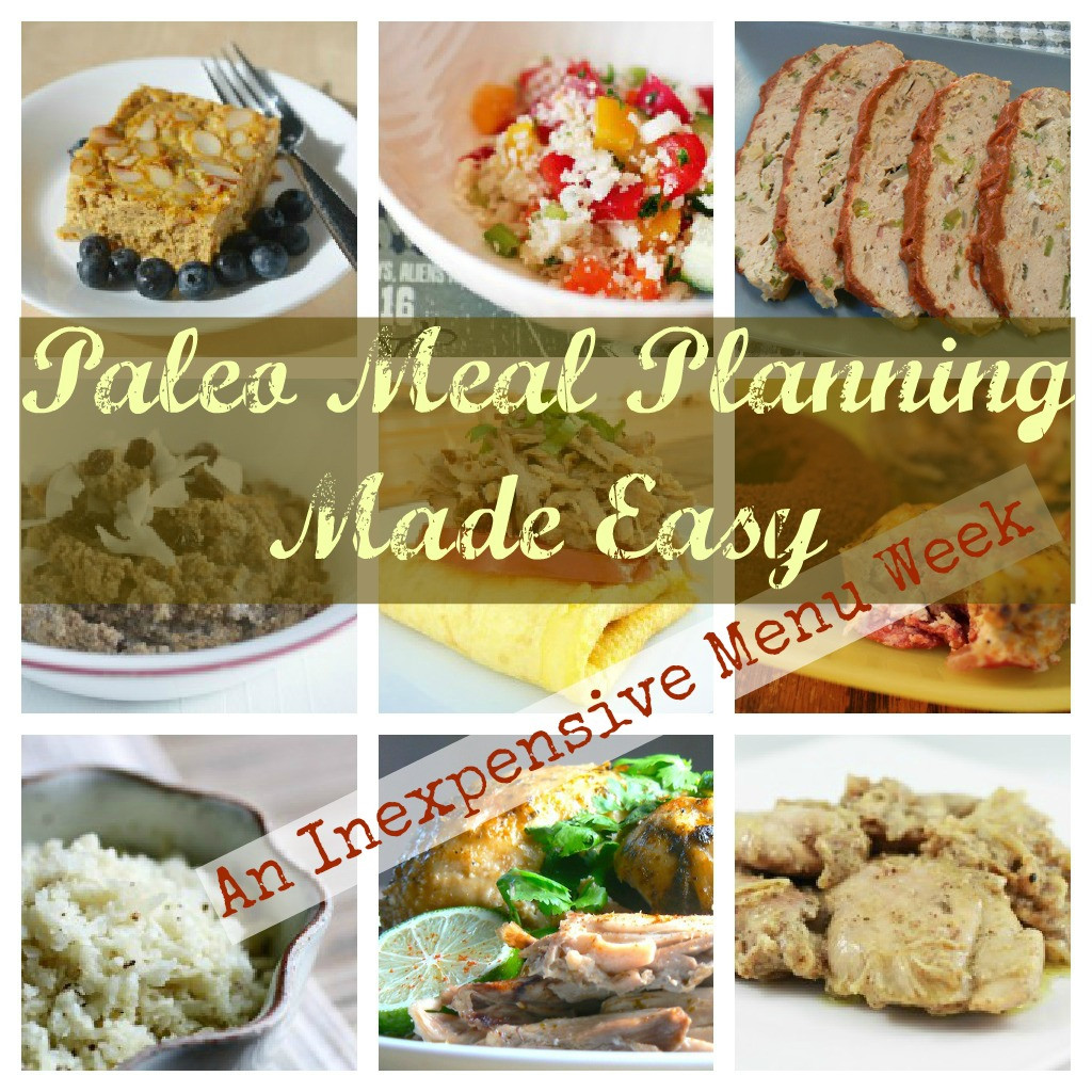 Easy Cheap Dinner  Paleo Meal Planning Cheap & Easy The Dirty Floor Diaries