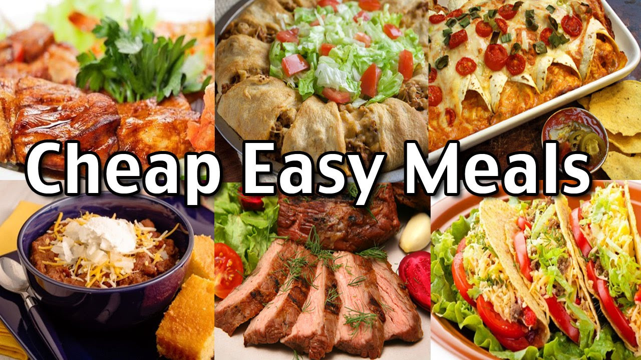 Easy Cheap Dinners  Cheap Easy Meals